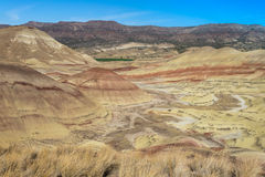 Painted Hills in Oregon Royalty Free Stock Images