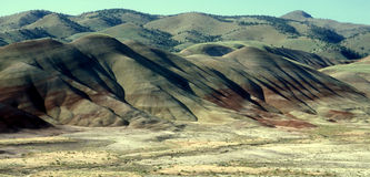 Painted Hills Scenery Stock Photo