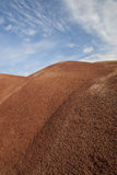 Painted Hills Texture. Closeup view of Painted Hills pop-corn like texture Royalty Free Stock Image