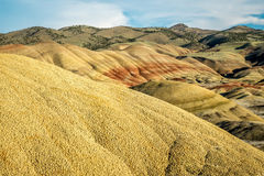 Painted Hills Unit of John Day Fossil Beds National Monument Royalty Free Stock Photography