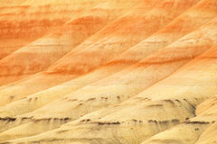 Painted Hills Unit of John Day Fossil Beds National Monument Royalty Free Stock Images