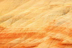 Painted Hills Unit of John Day Fossil Beds National Monument Stock Photo
