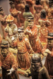 Painted Honor Guard from Shaanxi History Museum, Xian, China Stock Photos
