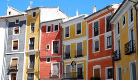 Painted Houses Royalty Free Stock Photos