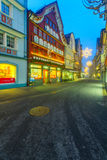 Painted houses in Appenzell Stock Images