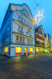 Painted houses in Appenzell Royalty Free Stock Photo
