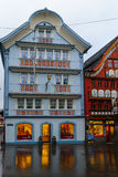 Painted houses in Appenzell Royalty Free Stock Photography