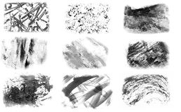 Painted impressions Stock Image