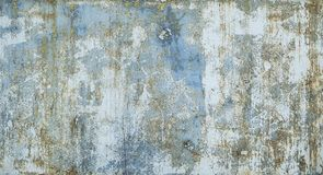 Free Painted In Blue Metal Rusted Background. Metal Rust Texture. Erosion Metal. Scratched And Dirty Texture On Outdoor Royalty Free Stock Photos - 166518128