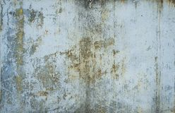 Free Painted In Blue Metal Rusted Background. Metal Rust Texture. Erosion Metal. Scratched And Dirty Texture On Outdoor Royalty Free Stock Image - 166518206