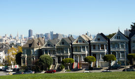 The Painted Ladies of Alamo Square Royalty Free Stock Image