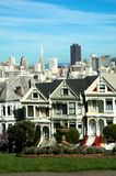 Painted Ladies, Alamo Square, San Francisco Royalty Free Stock Image