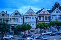 Painted Ladies at Dusk stock photography