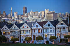 The Painted Ladies of San Francisco Royalty Free Stock Photos