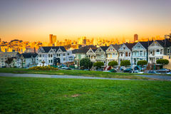 The Painted Ladies of San Francisco, California, USA. Stock Photography