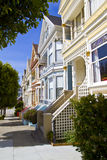 Painted Ladies in San Francisco Royalty Free Stock Photos