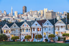 The Painted Ladies of San Francisco Stock Images