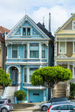 Painted Lady in Alamo square Royalty Free Stock Photos
