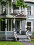 Painted Lady Victorian Home Stock Photos