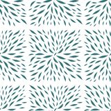 Painted leaves in square shape seamless vector royalty free illustration