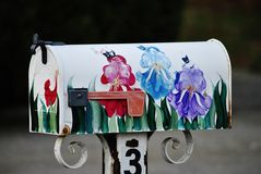 Painted Mailbox Royalty Free Stock Photos