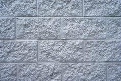 Painted masonry wall Royalty Free Stock Images
