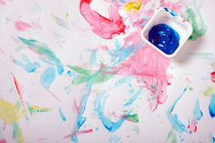 Painted messy background Royalty Free Stock Photos