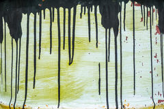 Painted metal barrel texture Royalty Free Stock Photography
