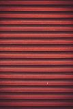 Painted metal container wall. Container Royalty Free Stock Image