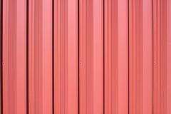 Painted metal siding Royalty Free Stock Photo