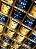 Painted Mugs in Germany Royalty Free Stock Photos