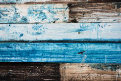 Painted Old Metal Background Looks Like Wood Royalty Free Stock Photography