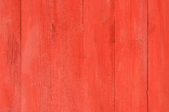 Painted Old Red Wood Board Royalty Free Stock Image