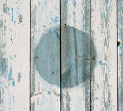 The painted old wooden boards Stock Photos