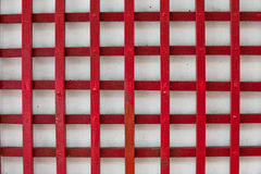 Painted old wooden wall. red background Royalty Free Stock Image