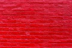 Painted old wooden wall. red background Stock Images