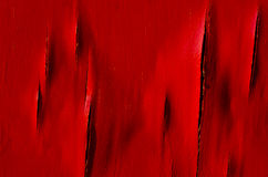 Painted old wooden wall. Red background. Stock Images