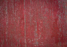 Painted old wooden wall. red background. And texture Royalty Free Stock Image
