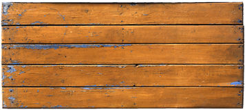 Painted old wooden wall. Painted yellow old wooden wall Stock Image