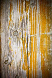 Painted old wooden yellow Stock Photo