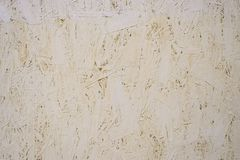 Painted oriented strand board OSB royalty free stock images