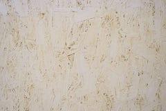 Painted orienterade trådbrädet OSB royaltyfria bilder