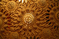 Painted Ornate Ceiling stock photo