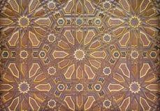 Painted Ornate Moorish Ceiling Stock Image