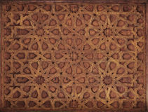 Painted Ornate Moorish Ceiling Stock Images