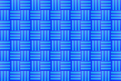 Painted Overlapping Blue Stripes Stock Photography
