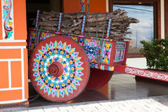 Painted oxcart, Sarchi/Costa Rica Royalty Free Stock Photos