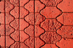 Painted pavement red background Royalty Free Stock Photo