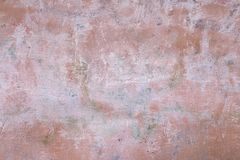 Free Painted Pink Old Wall With Brush Marks, Urban Grunge Background For Design Stock Photography - 144192422