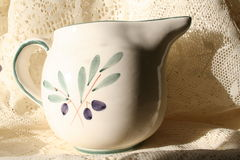 Painted Pitcher Royalty Free Stock Photography